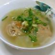 イワシのつみれのスープ