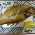 焼き魚―水カレイの一夜干し