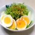 卵とキャベツのサラダ