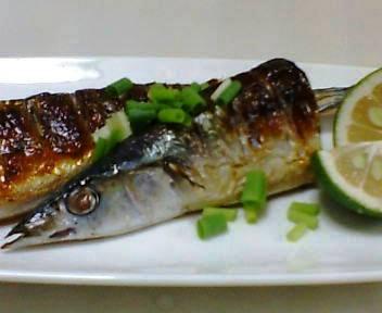 今秋3度目の秋刀魚