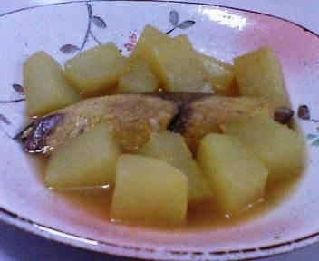 ブリと大根のスープ煮