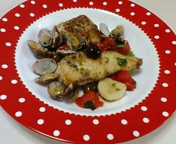 鯛の切り身料理