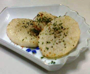 長芋のバター焼き