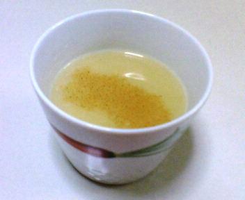 さつまいものミルクスープ