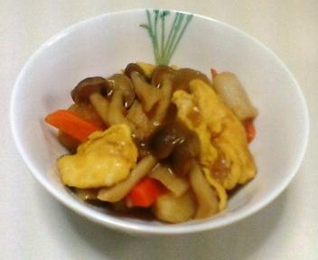 卵の中華風煮物