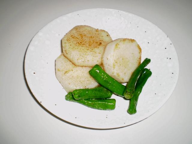 長芋の炒めもの