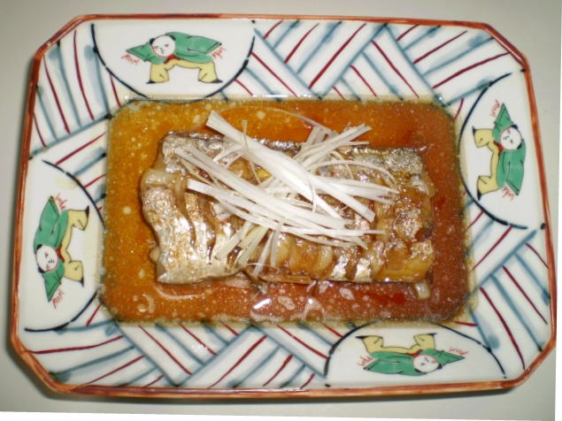 太刀魚の中華煮