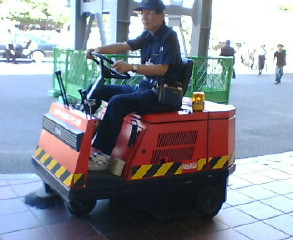 博多駅で見た珍しいもの