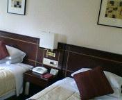ホテルの部屋から
