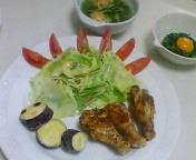 昨日の夕飯
