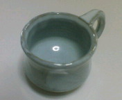 萩焼のコーヒーカップ