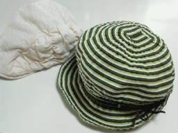 8日の結果。スイカ帽子。