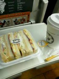 わあい、サンドイッチだ!