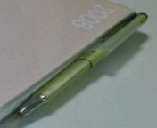 平べったいボールペン