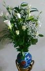 息子から誕生日に届いた花束