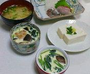 昨日の夕飯(洋風卵蒸し)