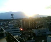 大晦日の黄昏