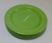 若草色のエミール・アンリのお皿