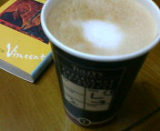 タリーズコーヒー〜!